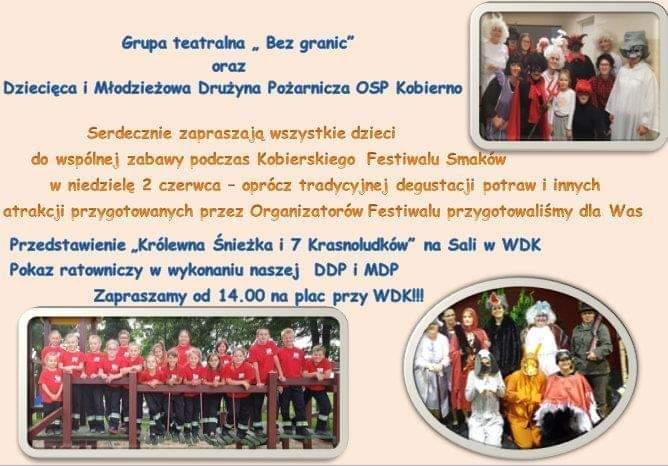 Zaproszenie na Kobierski Festiwal Smaków