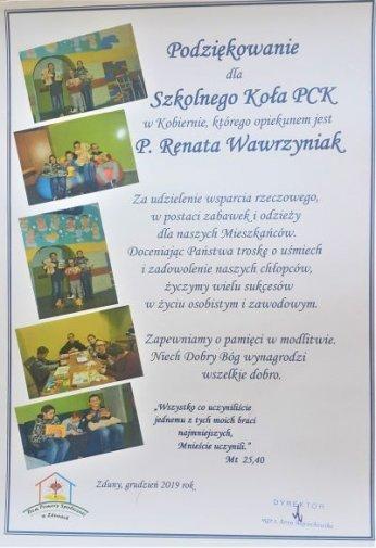Zbiórka dla Domu Pomocy Społecznej w Zdunach